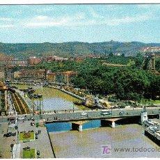 Postales: BILBAO. RIA Y PUENTE DE LA VICTORIA. EDITORIAL FARDI(BARCELONA). Lote 7829273