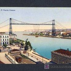 Postales: POSTAL DE BILBAO (VIZCAYA): PUENTE VIZCAYA (ED.LG). Lote 7908473