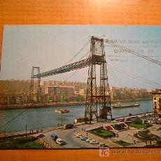 Postales: POSTAL BILBAO PUENTE VISCAYA ESCRITA. Lote 7947381
