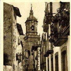Postales: FUENTERRABÍA - CALLE DE LAS TIENDAS. Lote 26161368