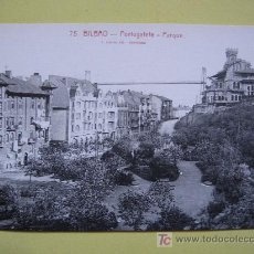 Postales: BILBAO - PORTUGALETE - PARQUE - SIN CIRCULAR. Lote 8442674
