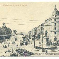 Postales: POSTAL BILBAO .. PLAZA CIRCULAR Y BANCA DE VIZCAYA. Lote 24518396
