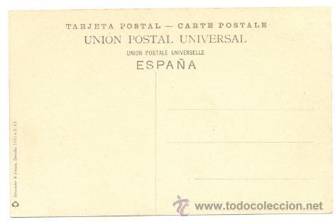 Postales: Postal BILBAO .. Plaza Circular y Banca de Vizcaya - Foto 2 - 24518396