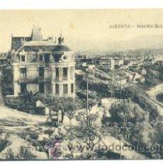 Postales: POSTAL ALGORTA VIZCAYA .. AVENIDA BASAGEUITI. Lote 27252853
