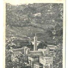 Postales: POSTAL SANTUARIO DE ARANZAZU (GUIPÚZCOA) .. VISTA GENERAL. Lote 16970544