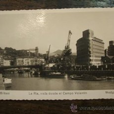 Postcards - Postal fotográfica. La Ría vista desde el Campo Volantín - 8855560