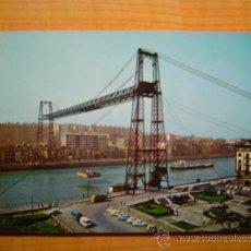 Postales: POSTAL BILBAO PUENTE VIZCAYA ESCRITA. Lote 9325198