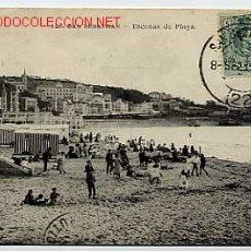 Cartes Postales: SAN SEBASTIAN. Nº 123. ESCENAS DE PLAYA. ED. MAYOR HERMANOS, CIRCULADA. Lote 22500816