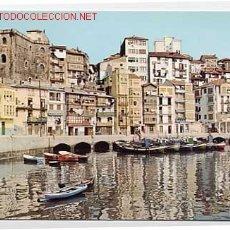 Cartes Postales: VIZCAYA. BERMEO VISTA PARCIAL. A LA IZQUIERDA TORRE DE ERCILLA. EDICIONES ALARDE Nº 102 AÑO 1968. Lote 1858014