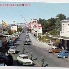 Postales: GUIPUZCOA. IRUN. PUENTE INTERNACIONAL. EDICIONES ALARDE Nº 3, AÑO 1963. SIN CIRCULAR. Lote 5583234