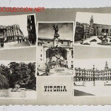 Postales: ANTIGUA POSTAL DE VITORIA - CIRCULADA - ED. ARRIBAS.. Lote 2261686