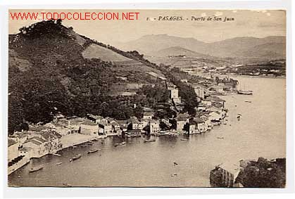 PASAGES. PUERTO SAN JUAN. GUIPUZCOA. PASAJES (Postales - España - Pais Vasco Antigua (hasta 1939))