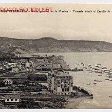 Postales: FUENTERRABIA. VISTA GENERAL DE LA MARINA, DESDE EL CASTILLO DE CARLOS V. ED. EUG. PACAULT, SIN CIRC.. Lote 10676661