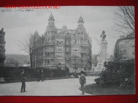 BILBAO, LA PLAZA ELIPTICA, ( VIZCAYA ) TP203 (Postales - España - Pais Vasco Antigua (hasta 1939))