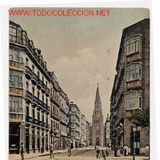Postales: SAN SEBASTIAN. CALLE SAN IGNACIO DE LOYOLA. ROMMLER & JONAS. ANTERIOR A 1905. CIRCULADA. Lote 11233767