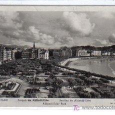 Postales: SAN SEBASTIAN - PARQUE DE ALDERDI-EDER - MANIPEL RTO. Nº 142205 . Lote 26056321