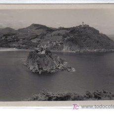 Postales: 6.- SAN SEBASTIAN - ISLA DE STA. CLARA Y MONTE IGUELDO - EDIC. ZARAGOZA - CASA GUISASOLA. Lote 27528853
