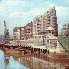 Postales: BILBAO - MUELLE DE RIPA - GARCIA GARRABELLA 1960. Lote 10014129