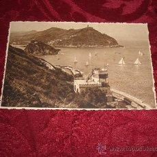 Postales: SAN SEBASTIAN VISTA DESDE EL MONTE URGULL,FOTO GALARZA. Lote 10195933