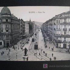 Postales: POSTAL BILBAO: GRAN VIA (LG). Lote 10208261