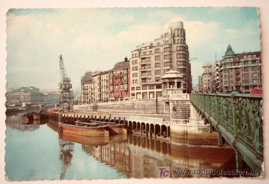 BILBAO - MUELLE DE RIPA (Postales - España - País Vasco Moderna (desde 1940))