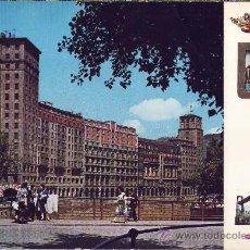 Postales: TARJETA POSTAL DE BILBAO, PUENTE DE LA MERCED Y RASCACIELOS . Lote 10323374