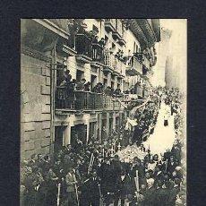 Postales: POSTAL DE FUENTERRABIA (GUIPUZCOA): LA PROCESION DEL VIERNES SANTO (EDTIBURCIO BERROTARAN) (ANIMADA). Lote 10360988