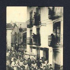 Postales: POSTAL DE FUENTERRABIA (GUIPUZCOA): VIERNES SANTO, SANTO SEPLUCRO (EDTIBURCIO BERROTARAN) (ANIMADA). Lote 10360998