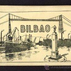 Postales: DESPLEGABLE CON 10 POSTALESL DE BILBAO (VIZCAYA) (ED.G.GARRABELLA) (VER FOTOS ADICIONALES). Lote 10372967