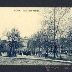 Postales: POSTAL DE BILBAO (VIZCAYA): PASEO DEL ARENAL (ED.LG) . Lote 10373337