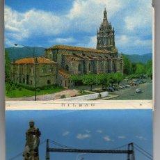 Postales: ACORDEÓN POSTALES BILBAO, 15 X 10,5 CM. Lote 11034122