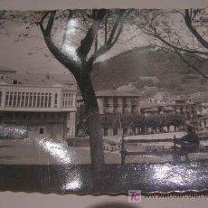 Postales: + MUNDACA, MUNDAKA, CASINO Y PUERTO, HACIA 1958. Lote 11159103