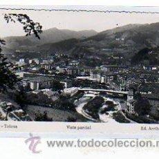 Postales: GUIPUZCOA. TOLOSA. ED. ARRIBAS. Nº 26. VISTA PARCIAL.. Lote 14830422