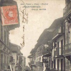 Postales: TARJETA POSTAL DE FUENTERRABIA. CALLE MAYOR. 1499 HAUSER Y MENET - MADRID.. Lote 13042041