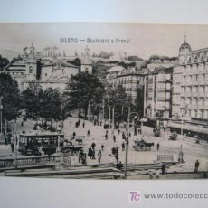 Postales: POSTAL BILBAO: BOULEVARD Y ARENAL (LG). Lote 11547067