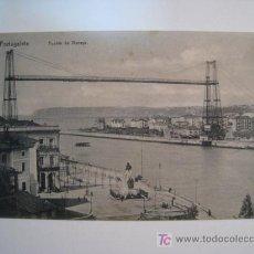 Postales: POSTAL PORTUGALETE: PUENTE DE VIZCAYA. Lote 11547239