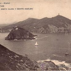 Postales: Nº 17988 POSTAL SAN SEBASTIAN HAUSER Y MENET SIN DIVIDIR. Lote 25598514