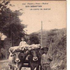 Postales: Nº 17904 POSTAL SAN SEBASTIAN HAUSER Y MENET SIN DIVIDIR . Lote 26719236