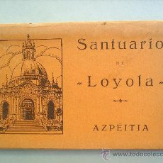 Postales: ACORDEON DE 15 POSTALES.SANTUARIO DE LOYOLA-AZPEITIA. Lote 26328115