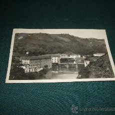 Postales: CESTONA-RIO UROLA Y HOTELES DEL BALNEARIO,FOTO GALARZA-SAN SEBASTIAN. Lote 11710926