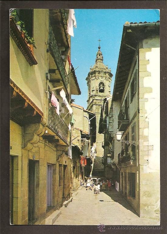 25 - FUENTERRABIA - CALLE DE LAS TIENDAS - MANIPEL (Postales - España - País Vasco Moderna (desde 1940))