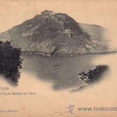 Postales: Nº 17960 POSTAL SAN SEBASTIAN SIN DIVIDIR HAUSER Y MENET CASTILLO. Lote 26144445