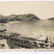 Postales: POSTAL SAN SEBASTIAN - BALNEARIO DE LA PERLA DEL OCÉANO - FOTO GALARZA. Lote 16454319