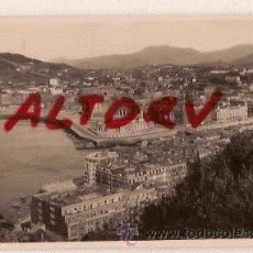 Postales: ANTIGUA POSTAL 116 SAN SEBASTIAN VISTA DESDE MONTE URGULL FOTO GALARZA. Lote 12537949