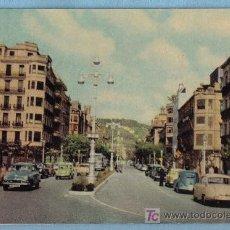 Postales: AVENIDA DE ESPAÑA. SAN SEBASTIAN (HELIOTIPIA ARTISTICA ESPAÑOLA Nº15 - 1960). Lote 12681073