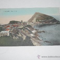 Postales: 5 GUETARIA . VILLA Y PUERTO . SIN CIRCULAR . POSTAL COLOREADA . Lote 15268103