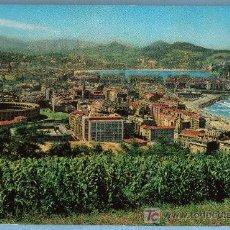 Postales: SAN SEBASTIAN. VISTA GENERAL DESDE EL MONTE ULLIA. FOTO GALARZA. 1964. Lote 12886131