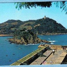 Postales: SAN SEBASTIAN. MONTE URGULL. VISTA DESDE LA BATERIA DE LAS DAMAS. FOTOCOLOR GALARZA. Lote 12886206