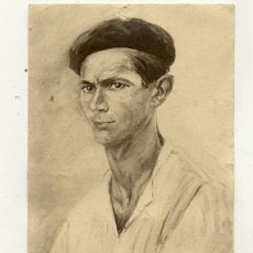 Postales: CARTA POSTAL SELLLADA 1957 // TIPE BASQUE PELOTARI. Lote 22491563