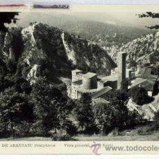 Postales: POSTAL SANTUARIO DE ARÁNZAZU GUIPÚZCOA VISTA GENERAL PARTE NORTE 1954. Lote 13161878